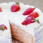 Strawberry Cake Recipe!