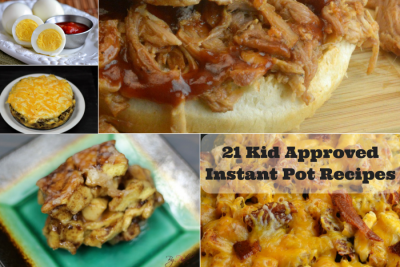 21 Kid Approved Instant Pot Recipes