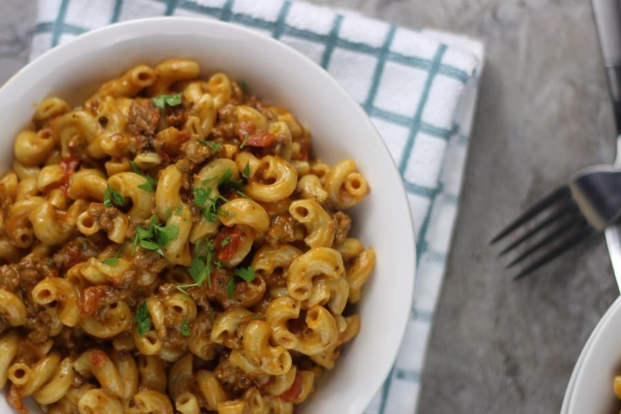 Instant Pot Cheeseburger Macaroni Hamburger Helper