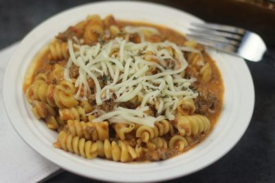Instant Pot Tomato Mozzarella Pasta with Video
