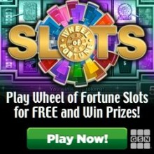 Play Wheel Of Fortune Slots For Free For Real Cash And Prizes! No Download Required! No Credit Card Required!