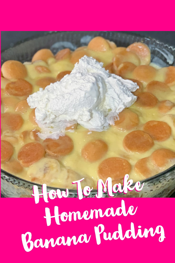 A creamy and custard-based homemade banana pudding made with real bananas is what you will find below. I am going to teach you how to make banana pudding the best way! #banana #pudding #dessert