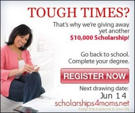 Win A $10000 Scholarship To Return To School!