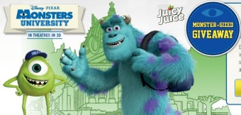 #JuicyJuice: Monster-Sized Giveaway! You Could Win A Trip To San Francisco!