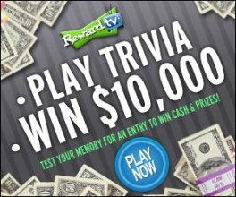 Play T.V. Trivia Trivia Games And Win Real Cash And Prizes!