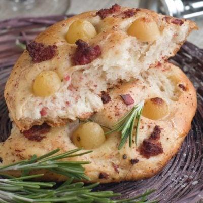 Sun-dried Tomato Focaccia Bread Recipe!