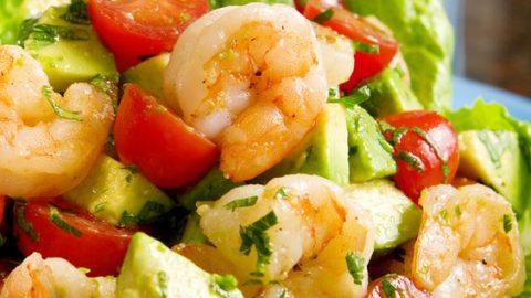 Nutritious Shrimp And Avocado Salad Recipe!