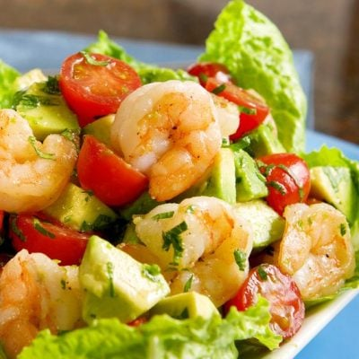 Nutritious Shrimp And Avocado Salad Recipe!