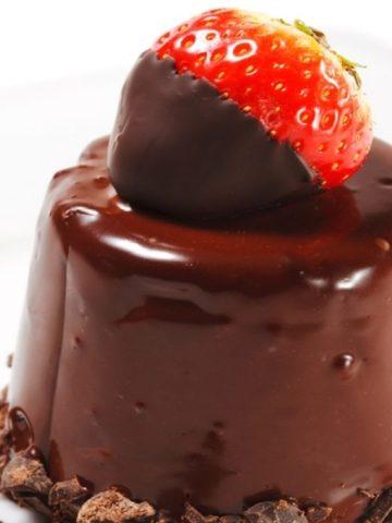 Mini Molded Chocolate Glazed Cakes Recipe!