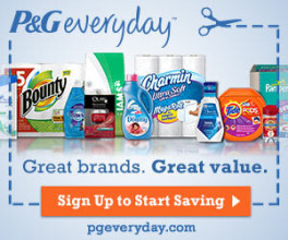 Get Exclusive P&G Samples And Coupons!!
