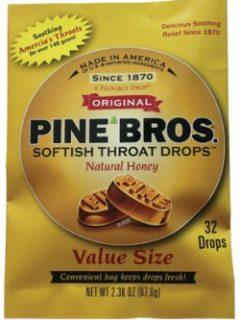 Pine Bros Softish Throat Drops Review!