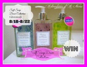 Soft Soap Decor Collection Giveaway!