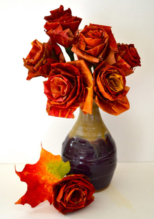 Autumn Leaf Boquet