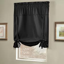 Curtain & Bath Review Blackstone Room Darkening Tie-Up Curtain Shade