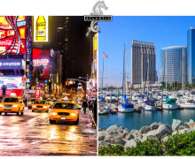 You Could Win a Trip to New York City or San Diego, CA! Value of $3,70
