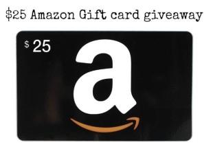 $25 #Amazon #giftcard #Giveaway!