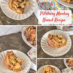 pilsbury monkey bread pinterest collage