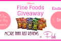 Elmer's Fine Foods Chee Wees Review and Giveaway