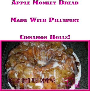 Apple Monkey Bread Recipe Made With Pillsbury Cinnamon Rolls!