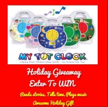 My Tot Clock Holiday Giveaway
