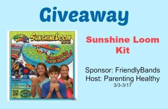 Friendly Bands Sunshine Loom Kit Giveaway