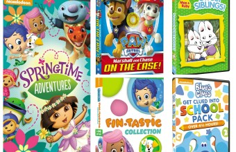 Nickelodeon DVD's Giveaway