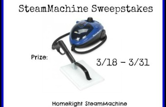 Homeright SteamMachine Sweepstakes!