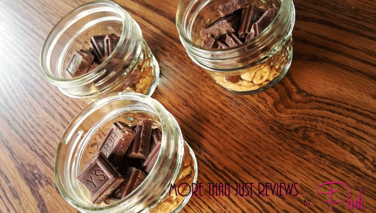 Easy Indoor Mason Jar Smores
