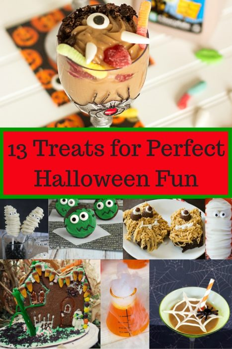 13 Treats for Perfect Halloween Fun