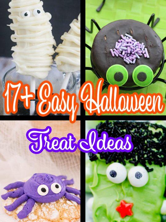 17+ Easy Halloween Treat Ideas