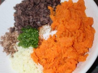 Gluten Free Southwest Chipotle Sweet Potato Veggie Burger Recipe