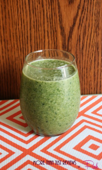 Easy Green Breakfast Smoothie