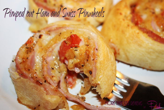 Pimped Out Ham And Swiss Pinwheels