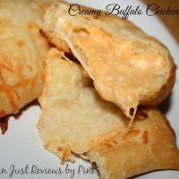 Creamy Buffalo Chicken Pockets