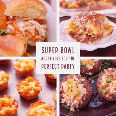 Take your game day snacking to a whole new level with these savory bites! #Easy #Dips #Best #Cold #superbowl #party