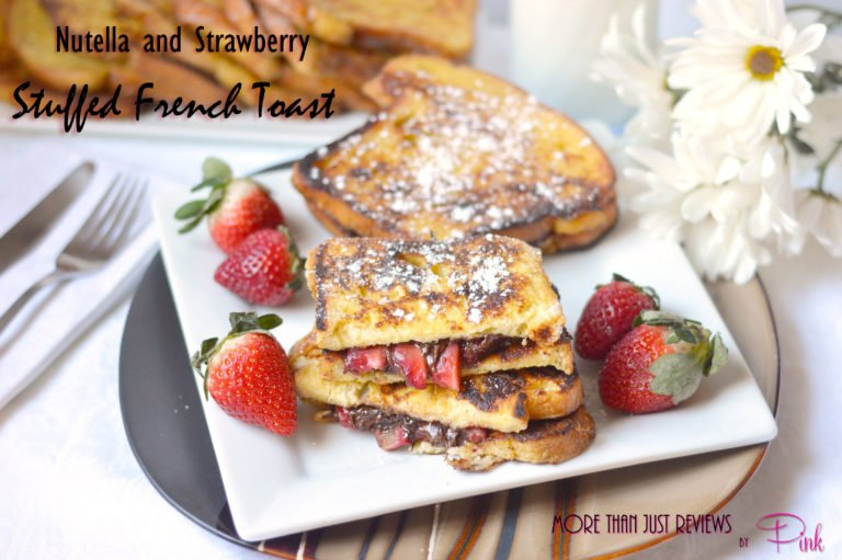 Nutella and Strawberry Stuffed French Toast1