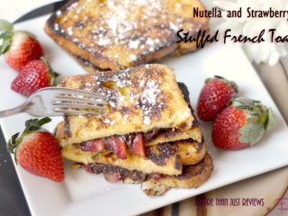 Nutella and Strawberry Stuffed French Toast Recipe