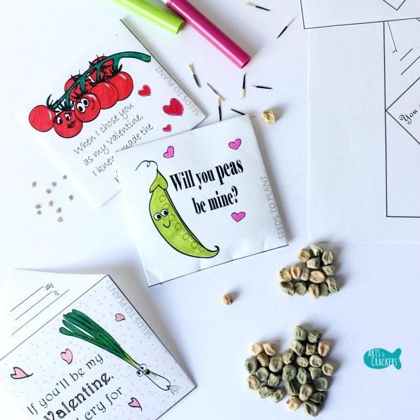 Seed Packet Valentines