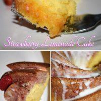 Strawberry Lemonade Cake Recipe
