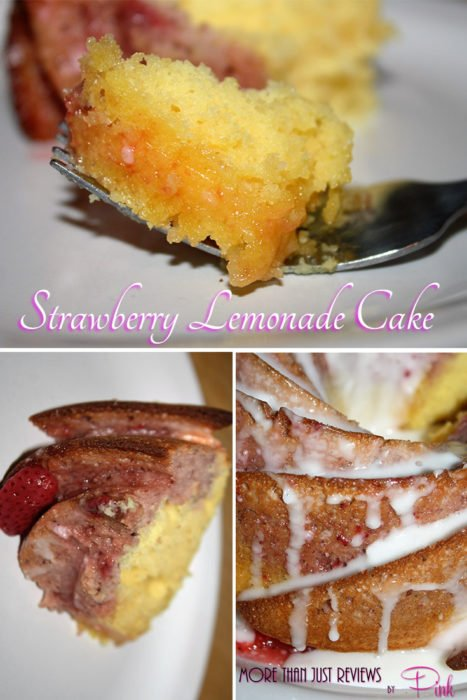 Strawberry Lemonaid Cake