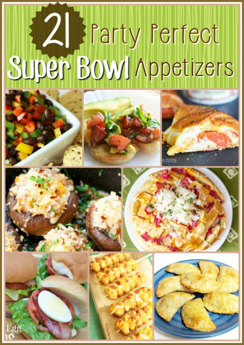 21 Party Perfect Super Bowl Appitizers