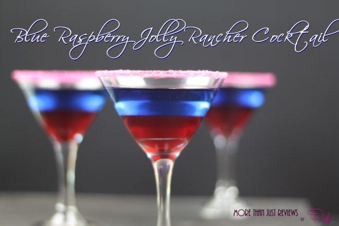 Blue Raspberry Jolly Rancher Cocktail
