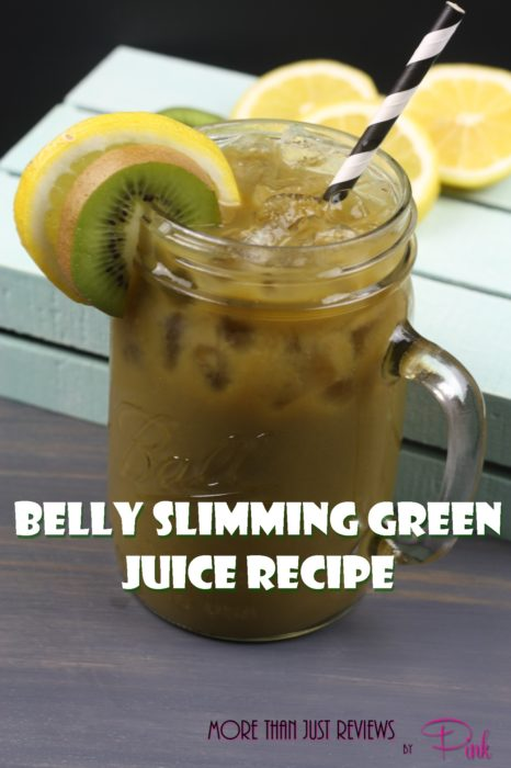 Belly Slimming Green Juice.