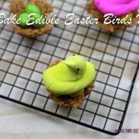 No Bake Edible Easter Birds Nests