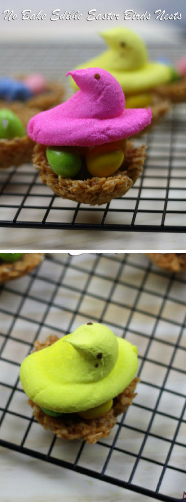 No Bake Edible Easter Birds Nests