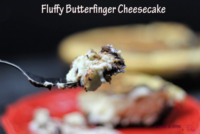Fluffy Butterfinger Cheesecake Recipe With Video!