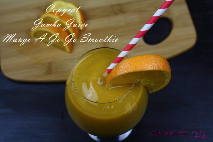 Copycat Jamba Juice Mango-a-Go-Go Smoothie Recipe