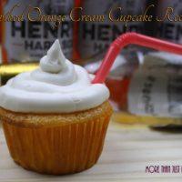Henry's Spiked Orange Cream Cupcake Recipe