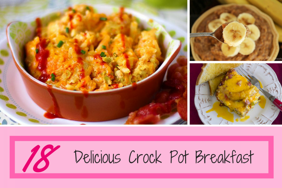 18 Delicious Crock Pot Breakfasts