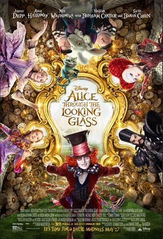 Alice Trough The Looking Glass Trailer